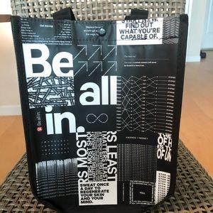 Lululemon tote bag shopping bag each bag gym bag
